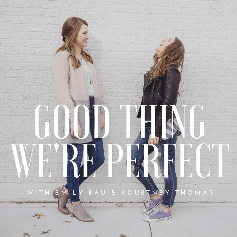 Good thing we're perfect podcast | kourtney thomas life coach