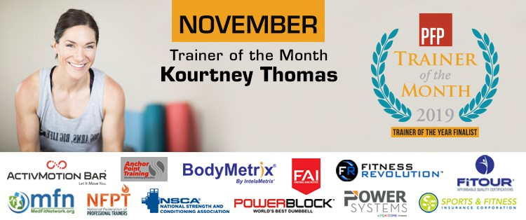 PFP Trainer of the Month | Kourtney Thomas Coach