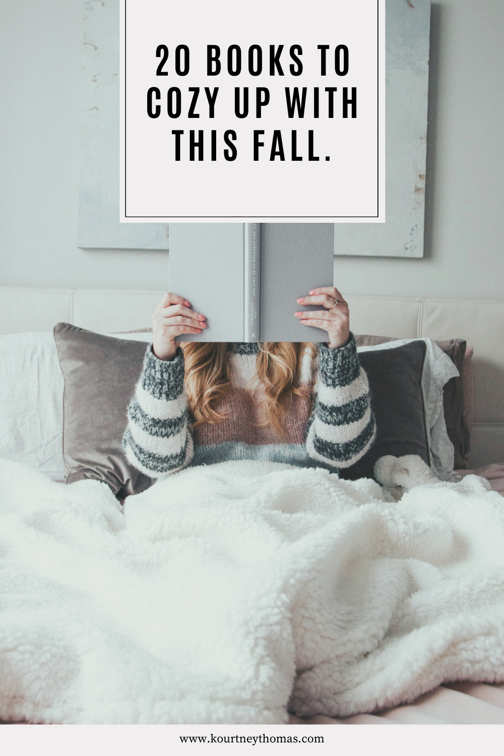 20 books to cozy up with this fall | kourtney thomas fitness life coach