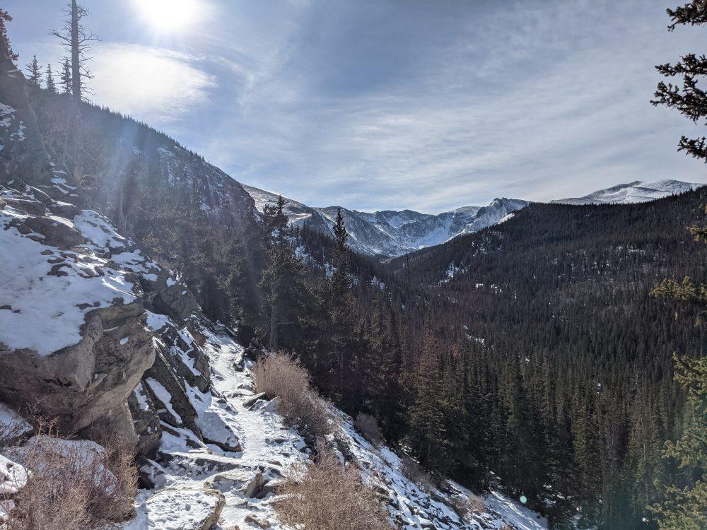 icy hike | kourtney thomas fitness life coach