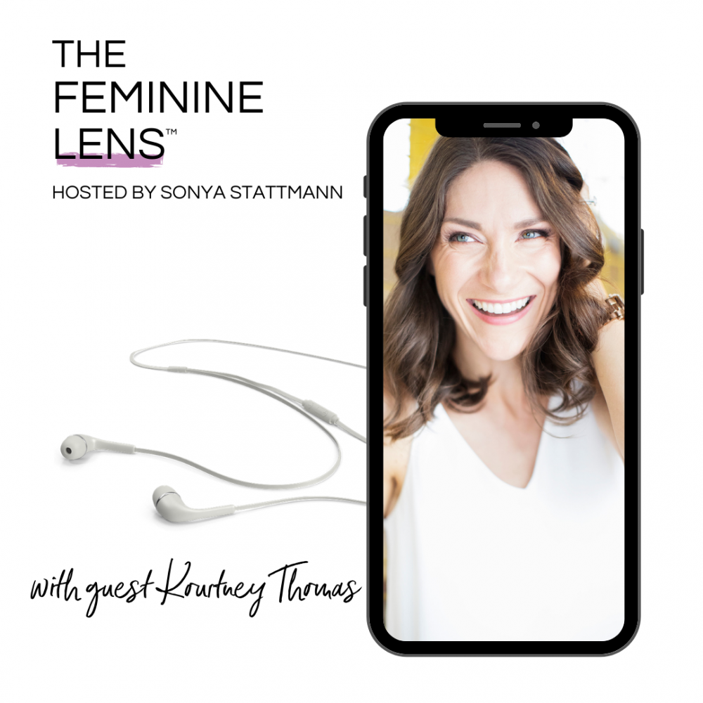 Kourtney Thomas on The Feminine Lens Podcast | Kourtney thomas fitness life coach denver