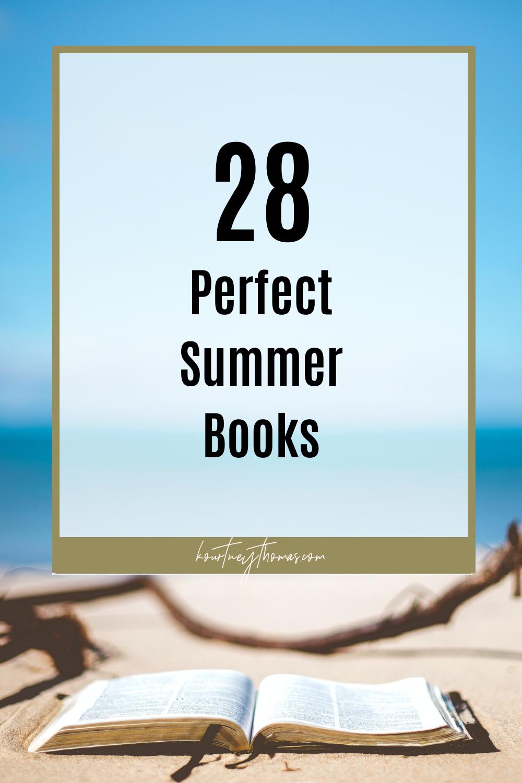28 perfect summer books | kourtney thomas fitness life coach