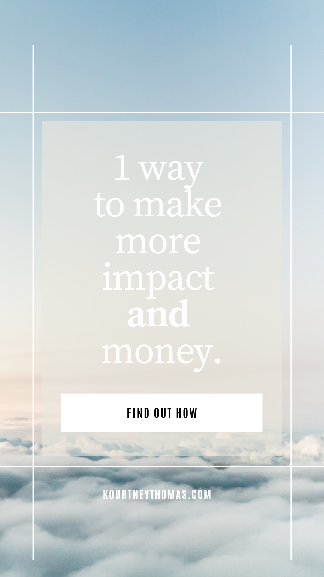 make more impact and money   kourtney thomas self-discovery life coach